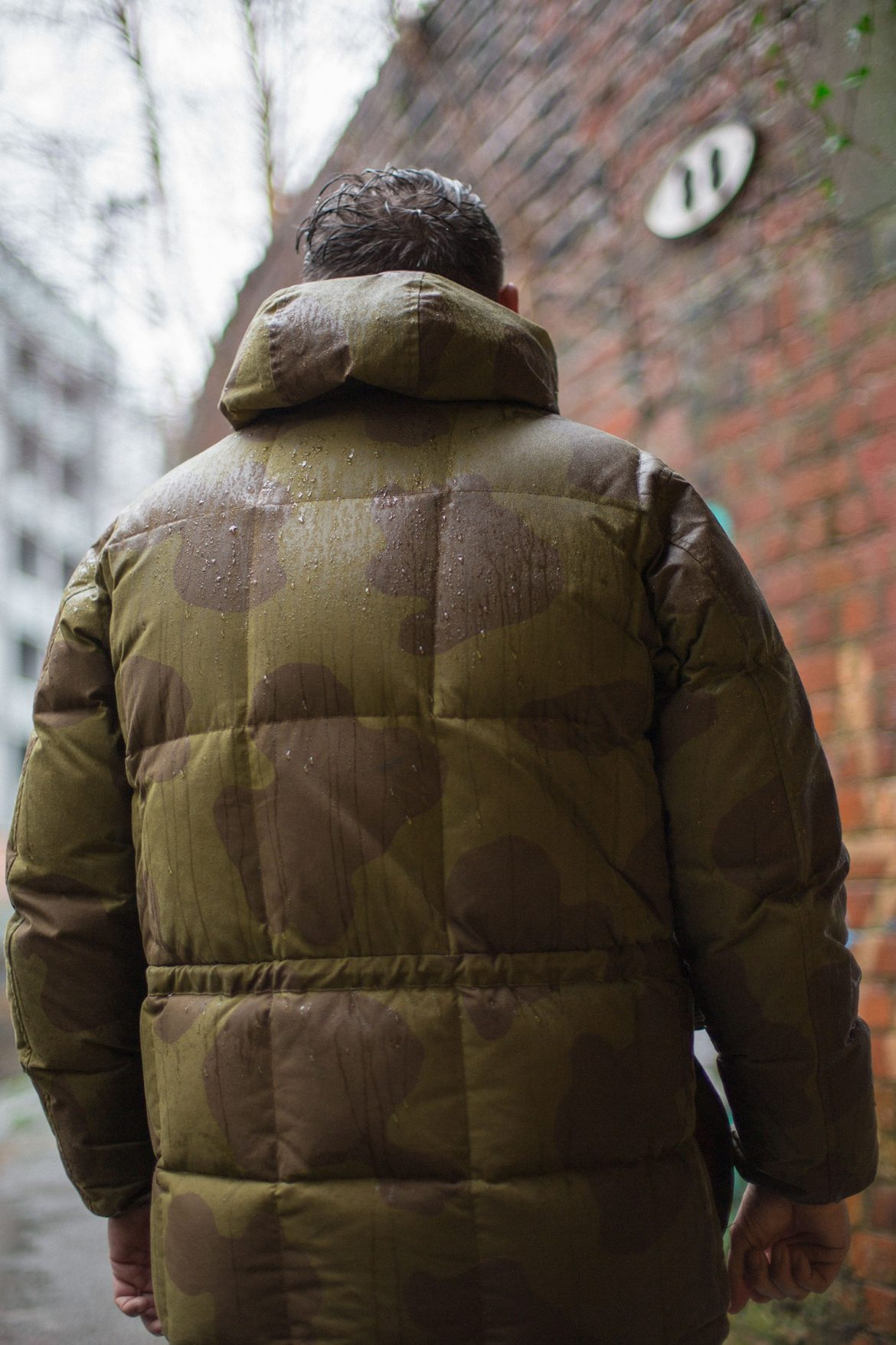 male portrait photography nigel cabourn coat